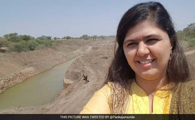 Pankaja Munde's Selfie Drive In Drought-hit Marathwada Is Utterly Disgusting