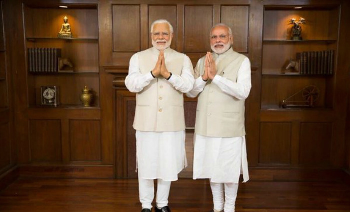PM Narendra Modi's Wax Statue Is Finally Unveiled & It's Unbelievably Identical