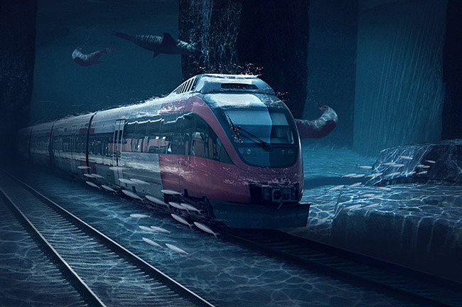 Hello Future! India's First Ever Underwater Bullet Train From Mumbai To Ahmedabad