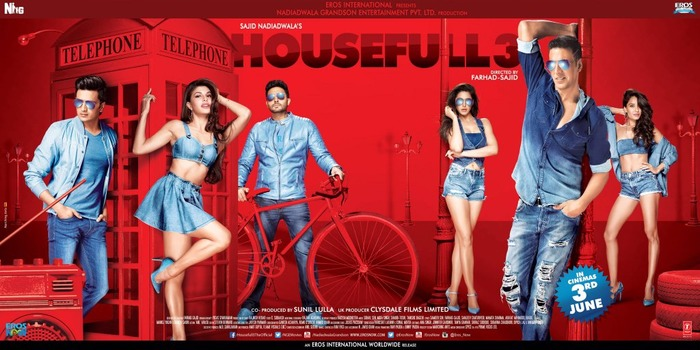 Housefull 3 Poster: Yay Or Nay?