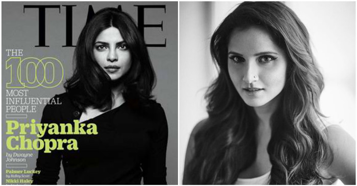 How Twitterati Reacted To Priyanka Chopra And Sania Mirza Making It To Time 100 Most Influential