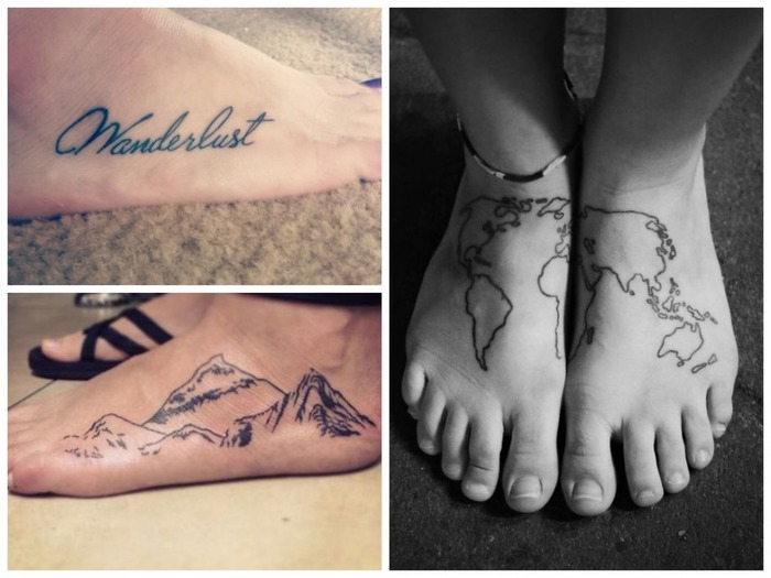 Inks For The Gypsys: 15 Tattoos That You Must Get If You Are A Travel Addict