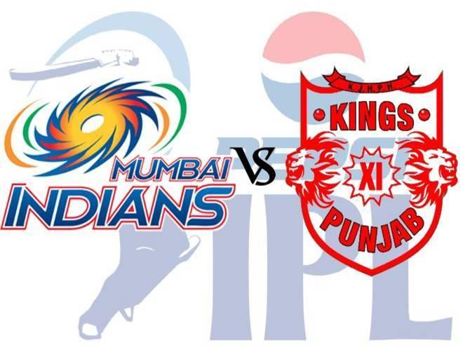 IPL Monday Match :: KXIP Vs Mumbai Indians