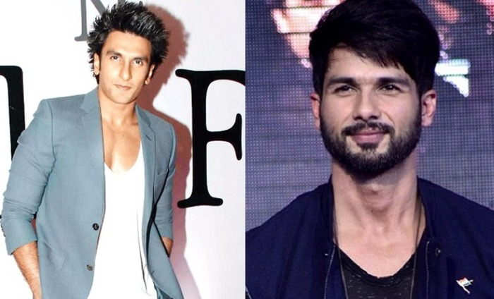 Ranveer Singh And Shahid Kapoor To Come Together For Ram Lakhan