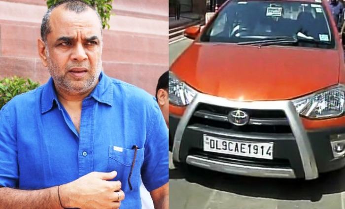 Paresh Rawal Breaks Rule, Ignores Odd-Even In Delhi
