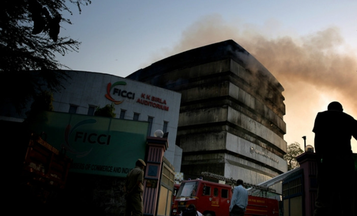 Massive Fire Engulfs In National Museum Of Natural History, Destroys It