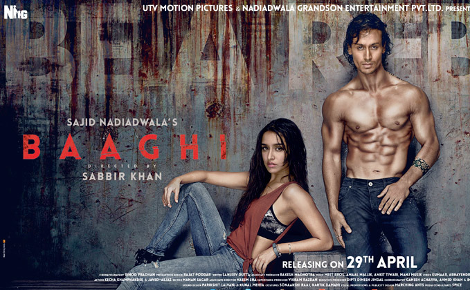 Baaghi: Movie Review: An Action-packed Love Story Of A Rebel With No Thrills & Twists