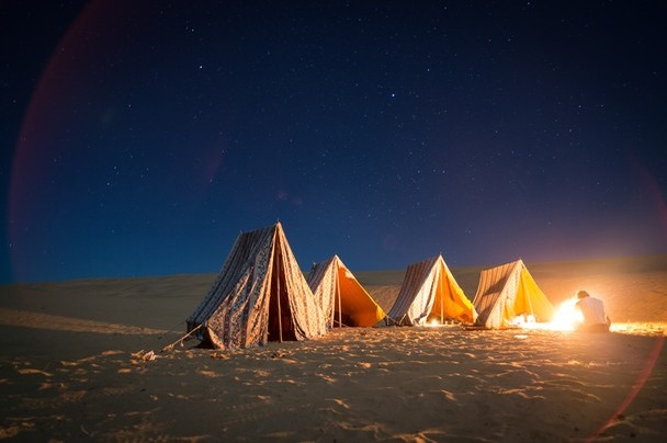 Night Sky Photography Places In India - Sand Dunes Of Jaisalmer