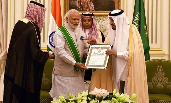 PM Modi Conferred With Highest Civilian Honor In Saudi Arabia