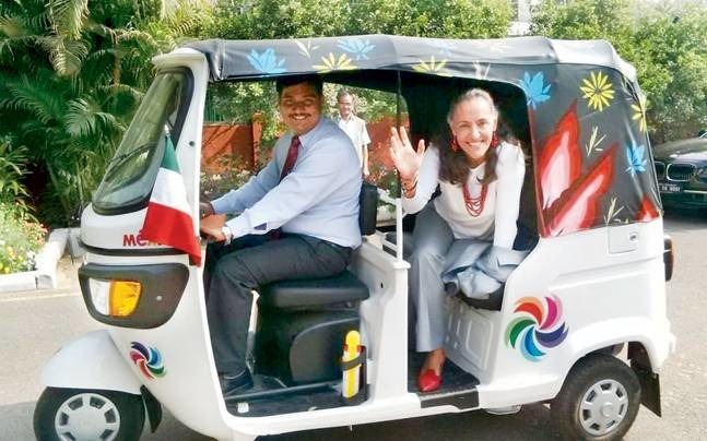Mexican Ambassador's Autorickshaw Not Allowed At An Event On Public Transport