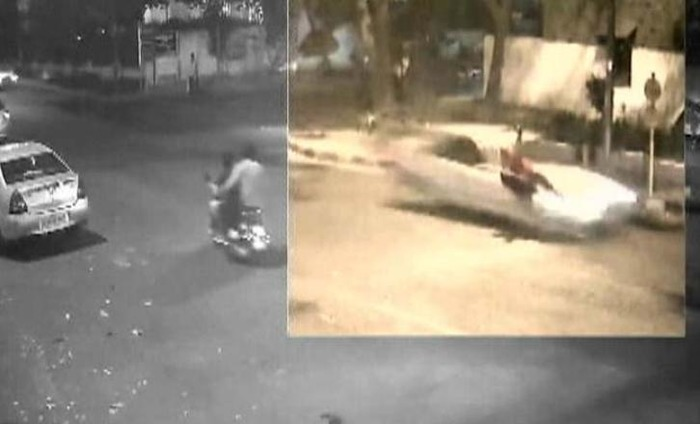 Watch: Mercedes Hit And Run Case Caught On Camera