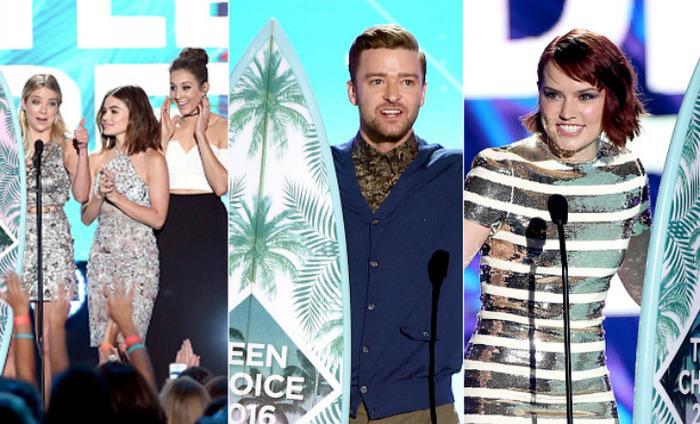 Selena Gomez, Pretty Little Liars Top Teen Choice Awards 2016