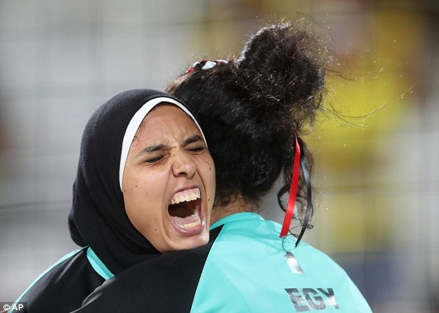 Rio Olympics Saw Stark Cultural Difference With Egypt-Germany Women Volleyball Team