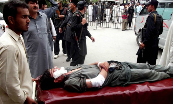 12 Injured In Blast Near Pakistan Hospital