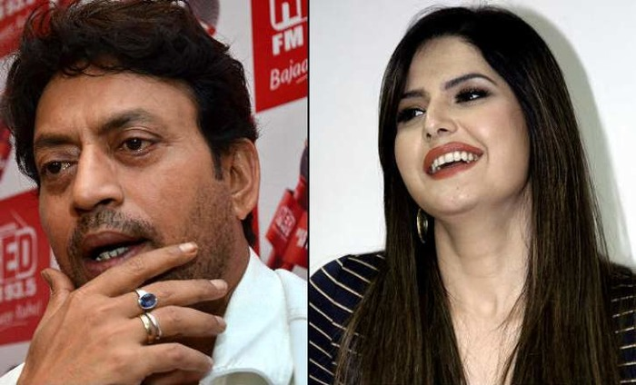 Zareen Khan Is Super Excited To Work With Irfan Khan