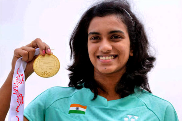 We All Wish Good Luck To Our Golden Badminton  Star PV Sindhu
