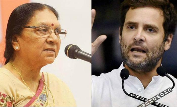 Making Anandiben 'Scapegoat' Won't Save BJP In Gujarat: Rahul