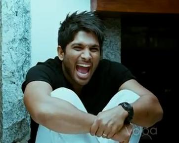 Allu Arjun Thug Life Scene From Arya 2 Movie