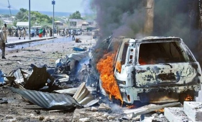 A Suicide Bomber Denoted An Explosive-Laden Vehicle At A Local Government Headquarters, 17 Killed