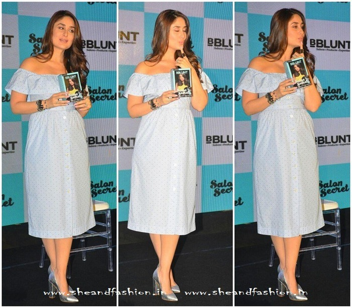 Fashion Goals: Kareena Kapoor Sizzles Like A True Diva At BBlunt Launch