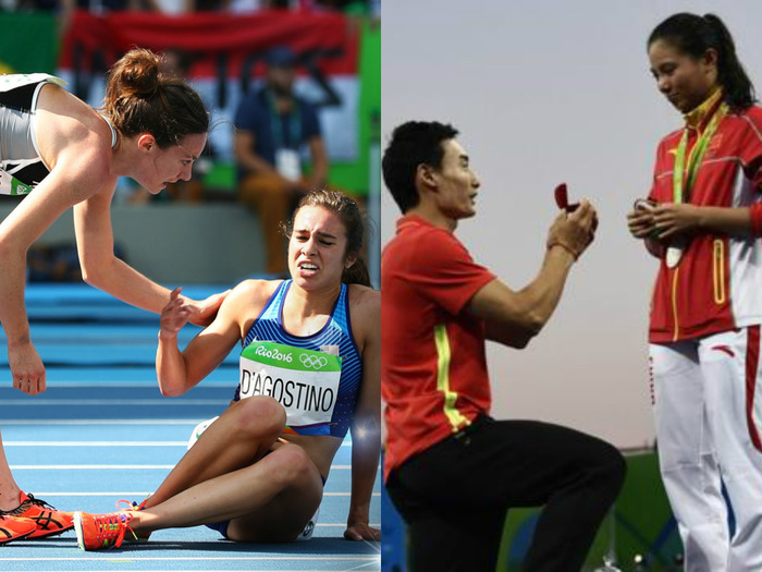 Iconic Moments During Rio Olympics 2016 That Added The Much-Needed Drama
