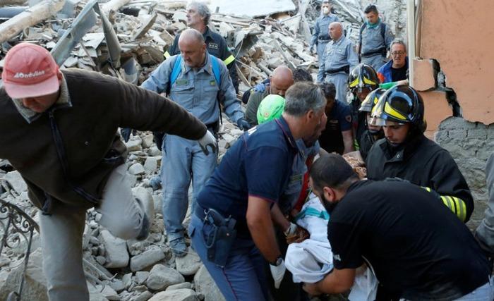 4 Dead As 6.2 Magnitude Earthquake Strike Central Italy
