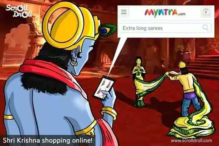 Myntra's Krishna Draupadi Controversy