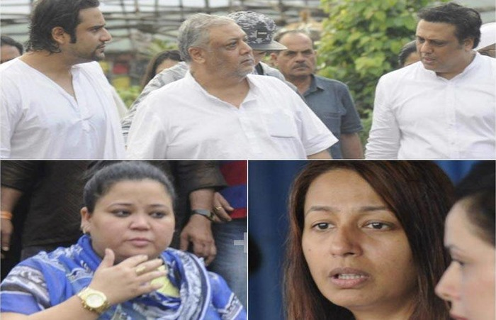 Bollywood And TV Stars Attend Krushna Abhishek's Father's Funeral