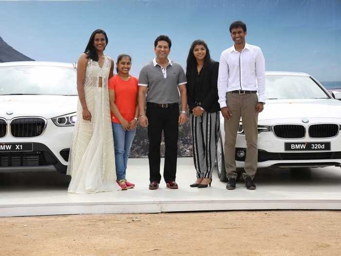 Sachin Tendulkar Gifts BMWs To Sindhu, Sakshi, Karmakar And Gopichand But Where Is The Govt.?