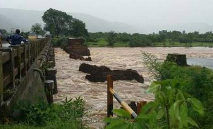 British-Era Bridge Over Mumbai-Goa Highway Collapses Due To Rains