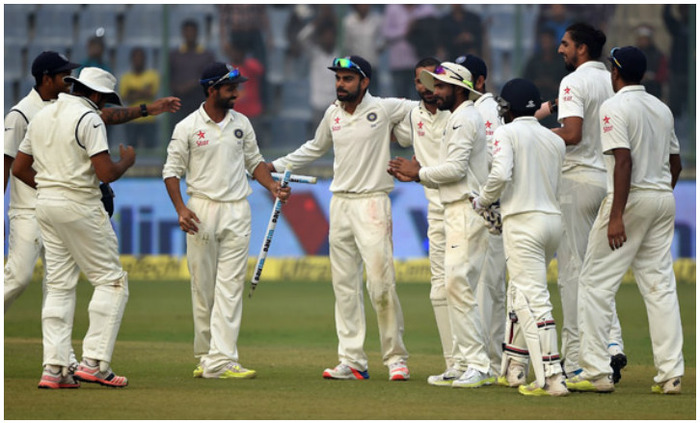 India On Course In Second Test Vs Windies Before Rains Play Spoilsport