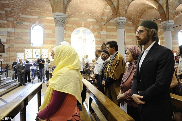 Muslims In France Attend The Prayer Meet Of Priest Slain By ISIS