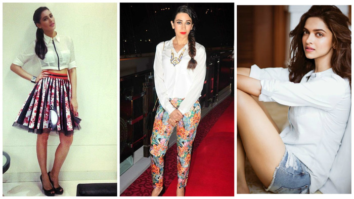 Bollywood Tells You 5 Different Ways To Use Your Basic White Shirt