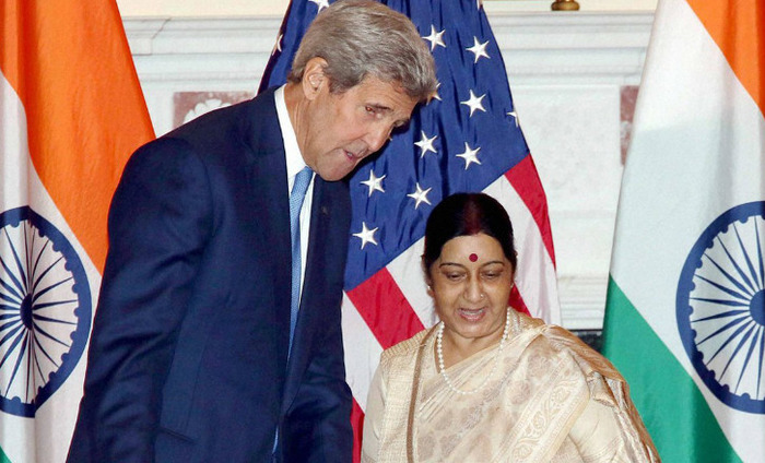 Sushma, Kerry To Co-Chair India-US Dialogue