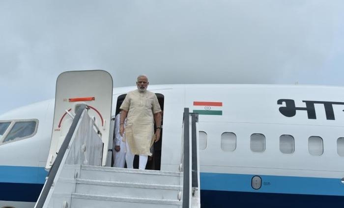 Narendra Modi In Gujarat To Promote Irrigation Project