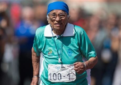 Shine On, India: 100-Year-Old Woman Inspires At American Masters Games