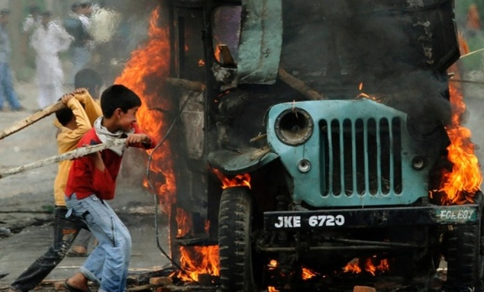 Kashmir Valley In Shock Yet Again With Raging Fresh Clashes