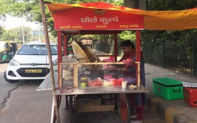 Gurgaon School Teacher Opens Chole Kulche Stall To Support Family