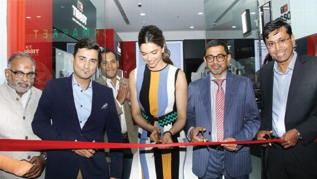 Deepika Padukone Looks Absolutely Ravishing At The Tissot Showroom Launch Event In Kochi