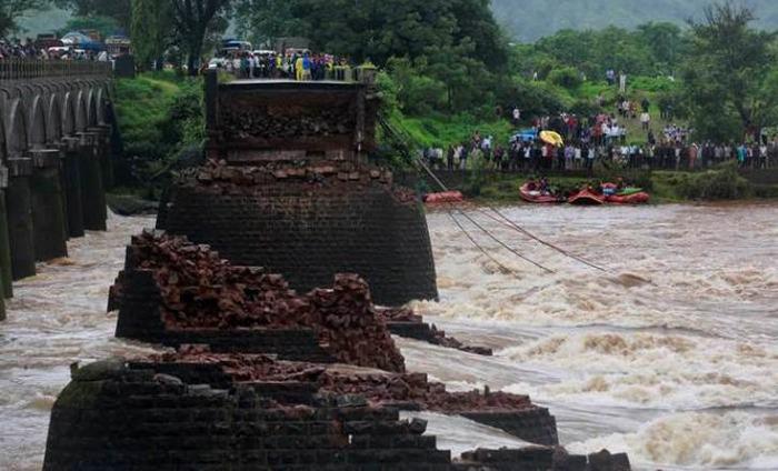 Mahad Bridge In Maharashtra Collapsed Due To Heavy Rains, 9 Bodies Recovered