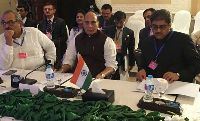 Didn't Go To Pakistan To Have Lunch, Says Rajnath