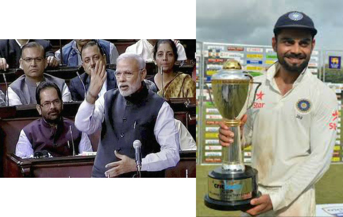 Virat Kohli Intrested In Indian Politics. He Was In Rajya Sabha