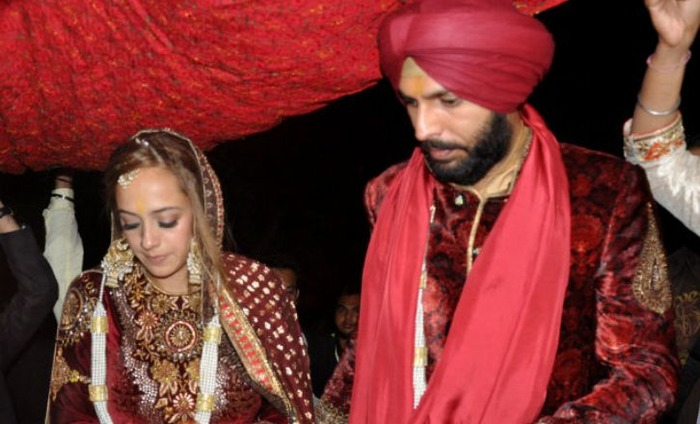 In Pics: Yuvraj Singh And Hazel Keech's Wedding Celebrations