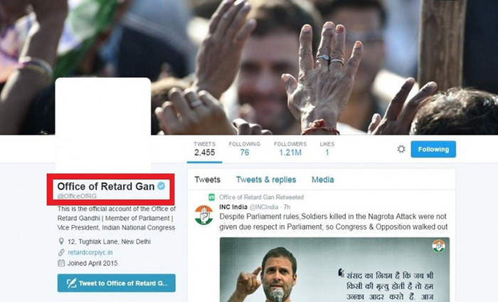 Congress Official Twitter Account Hacked And Abused, Party Claims Conspiracy