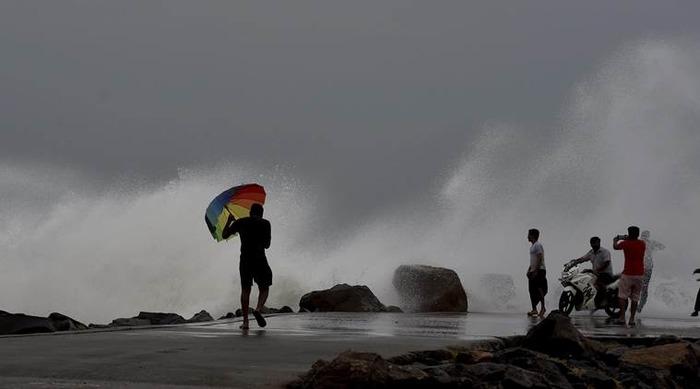 Cyclone Vardah Makes Landfall Near Chennai