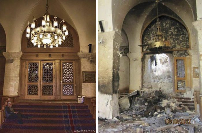8 Before And After Pictures Images Of Syria Show Devastation Caused By War