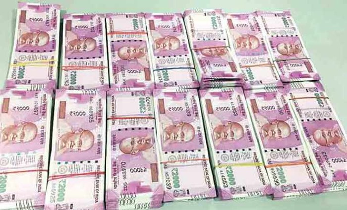 ED Seizes Rs 93 Lakh In New Currency Notes From Karnataka