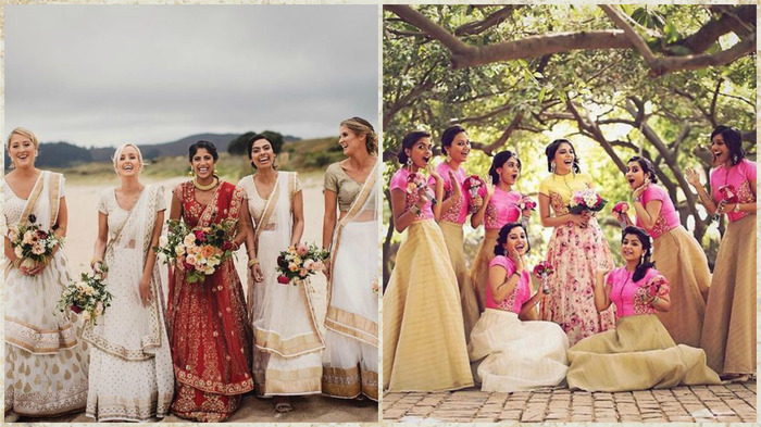 Decoding The Indian Bridesmaid Look
