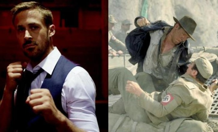 When Harrison Ford Punched Ryan Gosling In The Face