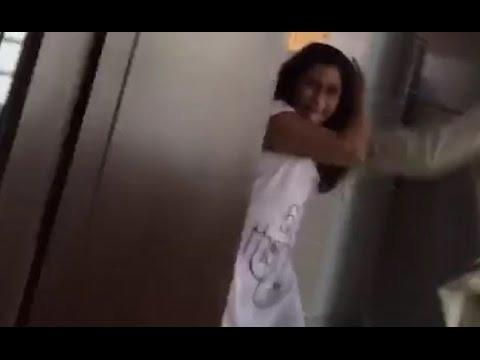 Horrifying Video Of Delhi HC Lawyer Beating Daughter Will Make You Cringe